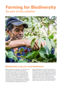 Policy Brief – FAO Mulitstakeholder Dialogue on Agriculture and Biodiversity